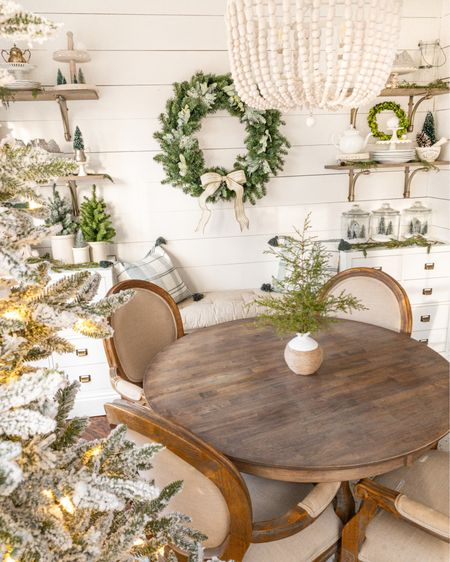 Dining room furniture is looking cute in the breakfast room for Christmas! http://liketk.it/332pM #liketkit @liketoknow.it