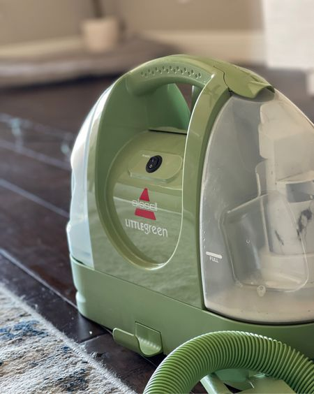 This little carpet cleaner has saved our carpets & rugs a few times! And I love that it's compact to store & carry around… perfect for spot cleans!!  #LTKunder100 #LTKhome #LTKsalealert