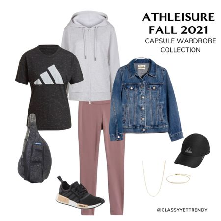 A few pieces from the Athleisure Fall 2021 🍁 Capsule Wardrobe Collection! There are 21 clothes and shoes in this capsule and includes 100 outfits, a monthly outfits calendar (so you always know what to wear), convenient shopping links, a travel/mini capsule wardrobe and more. Get yours today in the Capsule Wardrobe eBook Store at https://classyyettrendy.com/ebook-shop!  To shop this post 👉🏼 click the link in my profile for direct links to the items in this photo— or download the@shop.ltkapp and follow me (classyyettrendy) to easily shop my daily looks!  #LTKunder50 #LTKstyletip #LTKunder100