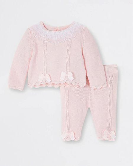 Pink bow baby girls outfit! #pinkfinds floral finds, baby clothes, girls clothes