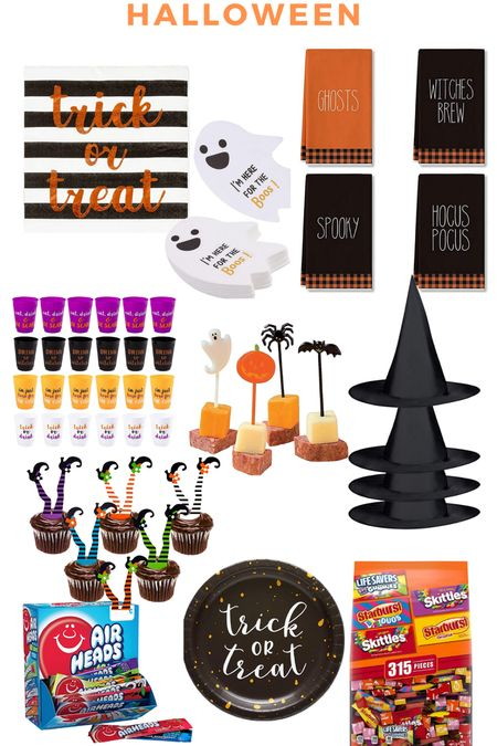 Last minute Halloween goodies!!! #amazonprime #halloween #cocktailnapkins #cups #candy   #LTKHoliday #LTKSeasonal #LTKunder50