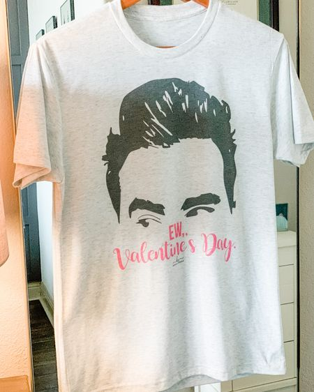 Snagged this tee from Hippie Runner but there are several options on Amazon and Etsy as well! We are suckers for a good Schitt's Creek tee and this one nails it for Valentine's Day. http://liketk.it/37AZt #liketkit @liketoknow.it #LTKVDay #LTKstyletip #LTKunder50