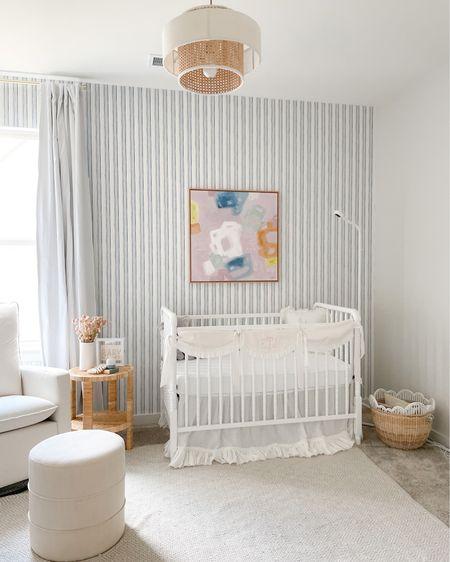 Baby girl nursery design that's inspired by the coast http://liketk.it/3iHKN #liketkit @liketoknow.it #LTKhome #LTKbaby #LTKfamily