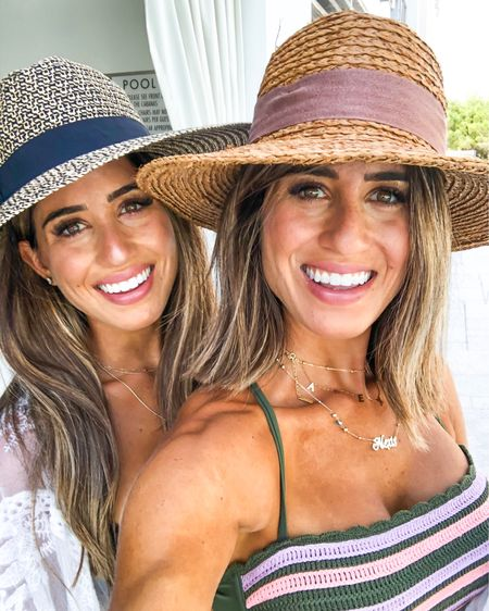 With my bestie! Linked my bikini (under $20) wearing size m top and our hats! Linked my sunscreen and light beach makeup http://liketk.it/2ER9x #liketkit @liketoknow.it #LTKunder50 #LTKunder100 #LTKstyletip #LTKbeauty
