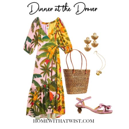 This tropical wrap dress from #farmrio will be perfect for dinner at Fort Worth's newest hot spot Hotel Drover. http://liketk.it/3kpYh @liketoknow.it #liketkit #LTKstyletip #LTKitbag #LTKfit Download the LIKEtoKNOW.it app to shop this pic via screenshot