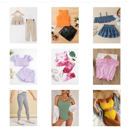Matching Sets For toddler  Swimsuit and bikini under $25  #LTKSeasonal #LTKkids #LTKfit