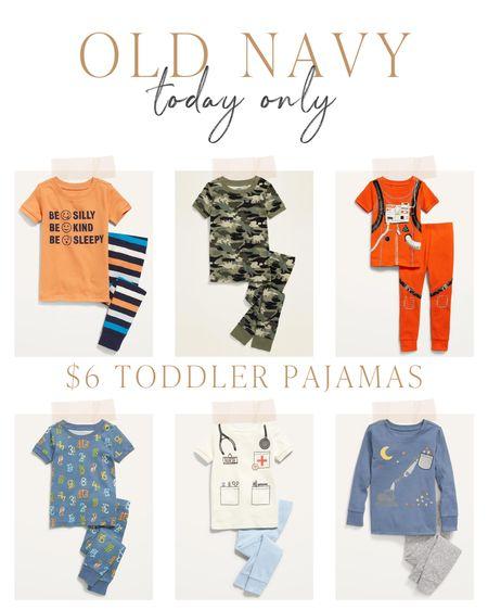 Old Navy $6 toddler pajamas today only! Originally $10!   #LTKkids #LTKbaby #LTKsalealert