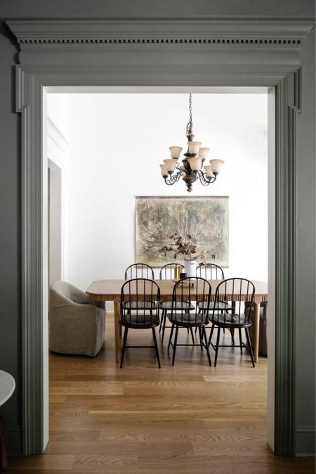Dining Room, Dining Table, Dining Chairs, Tapestry       #LTKhome