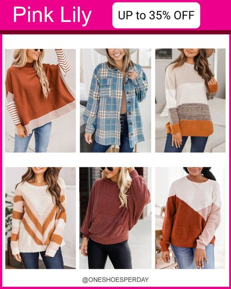 Pink Lily Fall Outfits SALE  UP TO 35% OFF  Ends October 18         http://liketk.it/3q0gU @liketoknow.it #liketkit #LTKGiftGuide #LTKSeasonal #LTKsalealert #LTKunder50 #LTKworkwear #LTKFall | Travel Outfits | Teacher Outfits | Casual Business | Blazers | Blazer | Fall Outfits | Fall Fashion | Pumpkins| | Pumpkin | Booties | Boots | Fall Boots | Winter Boots | Bodysuits | Leggings | Halloween | Shackets | Plaid Shirts | Plaid Jackets | Activewear | White Sneakers | Sweater Dress | Fall Dresses | Sweater Vests | Denim | Jeans | Cardigans | Sweaters | Faux Fur Jackets | Faux Leather Pants | Faux Leather Jackets |Coats | Fleece | Jackets | Bags | Handbags | Crossbody Bags | Tote | Wedding Guest Dresses | Gifting | Gift Guide | Gift Ideas | Gift for Her | Mother in Law Gifts | Leather Pants | Winter Outfits | Puffer Jackets | Christmas | Christmas Gifts | Holiday |