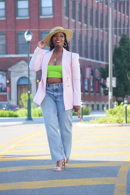 Love a pop of pink and green for a crisp summer look.   #LTKsalealert #LTKstyletip #LTKunder100