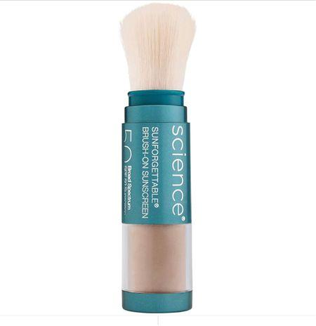Best sunscreen- brush on natural mineral sunscreen   #LTKbeauty #LTKunder100 #LTKstyletip