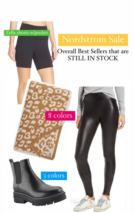 Nordstrom anniversary sale best sellers Women's fall outfits Spanx sale Biker shorts Leopard print blanket Women's Chelsea boot   #LTKshoecrush #LTKunder100 #LTKsalealert