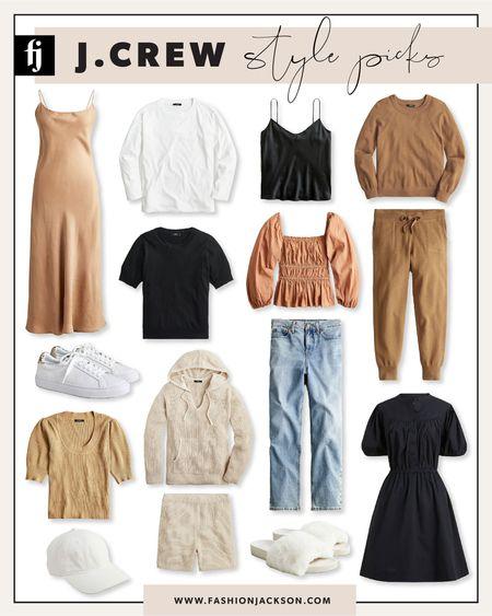 J.Crew recent style picks - select items up to 30% off right now!#summerdress #loungewear #athleisure #summertops #neutralinsp #fashionjackson  #LTKsalealert #LTKstyletip #LTKunder100