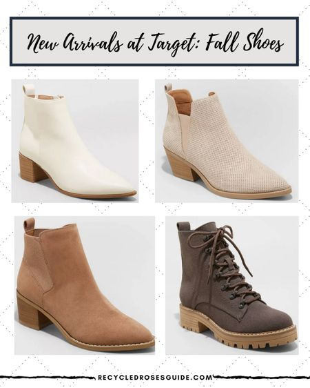 ✨🚨New Shoe Arrivals at Target- Under $40🚨✨ | Back to School | Fall Fashion | Fall Boots | Ankle Booties | Target Style | Target Finds | Nude Booties | Cream Booties | Brown Booties | Back to School | Under $50 | Under $100 |   #LTKunder50 #LTKshoecrush #LTKstyletip