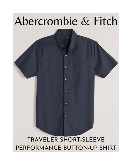Another item you can give your dad is the Abercrombie & Fitch Traveler Short-Sleeve Performance Button-Up Shirt.  The Traveler Performance shirt is a short-sleeve button-up shirt that wicks moisture and releases wrinkles. Your dad can wear this shirt on a warm day out.     The button-up shirt comes in different colors and patterns such as white floral, navy blue, light blue stripes, light blue, white stripes, and white dots. It's available in sizes XS to XXL and costs $59 at Abercrombie & Fitch.  #LTKunder100 #LTKmens #LTKsalealert