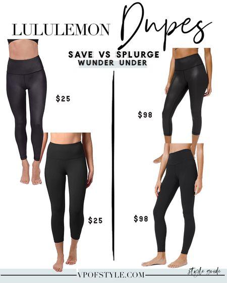 Lululemon wunder under legging dupes http://liketk.it/34USA #liketkit @liketoknow.it #LTKfit #LTKunder50 #LTKunder100 lululemon look alikes lululemon look for less workout wear workout leggings amazon finds #amazonfinds