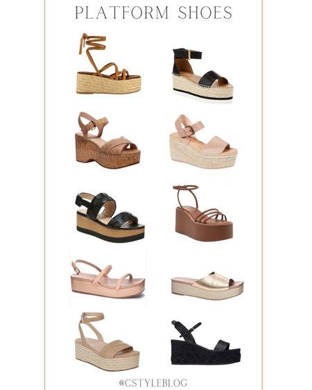 Platform shoes - more linked on the blog! http://liketk.it/3dZei #liketkit @liketoknow.it #LTKshoecrush