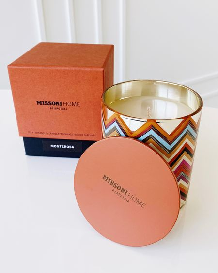 Love this #MissoniHome limited edition scented candle! Perfect decor addition.   http://liketk.it/3gkSy #liketkit @liketoknow.it #LTKhome