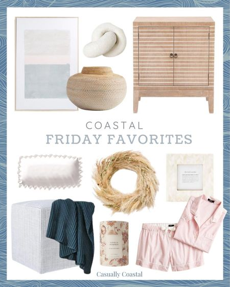 This week's Friday Favorites! Take 60% off the pjs with code HELLOFALL! - fall decor, fall home decor, fall decorating, fall decorations, fall home decorations, home decor, decor under 50, home decor under $50, summer decor, coastal decor, beach house decor, beach decor, beach style, coastal home, coastal home decor, coastal decorating, coastal interiors, coastal house decor, home accessories decor, coastal accessories, blue and white home, blue and white decor, neutral home decor, cane, seagrass, rattan, bedroom inspiration, coastal bedroom, bedroom tables side, bedroom side tables, bedroom furniture, bedroom decor, master bedroom decor, guest bedroom furniture, coastal living room, neutral living room, living room decor, living room furniture, family room decor, coffee table decor, woven bookshelf decor, target decor, target home, 24x36 artwork, neutral artwork, artwork with soft colors, wall decor living room, artwork for home, coastal art, coastal artwork, beach artwork, wall art large, large artwork, abstract art, bedroom artwork, decorative objects, pampas wreath, pampas grass wreath, fall wreaths, pottery barn wreaths, pottery barn fall decor, neutral fall wreaths, wreaths for front door, textured decor, picture frame set, 3x3 picture frames, 4x6 picture frames, 5x7 picture frames, photo frame sets, photo frames, picture frames, herringbone frames,  cube, living room cube,  target studio mcgee, living room cube, ottoman stool, foot stool, foot rest, extra seating, navy throw blanket, chunky knit throw, cozy throw blanket, target throw blankets, knit blanket, walmart home, walmart home decor, entryway table, cabinet, white platter, decorative platter, decorative knot, clay knot, white knot, pumpkin candles, target candles, fall candles, pumpkin vanilla candles, J.Crew pajamas, summer pajamas for women, summer pajama sets, pajama short set, pink pajamas, summer sale,TJ Maxx finds, TJ Maxx decor, TJ Maxx home   #LTKSeasonal #LTKhome #LTKsalealert