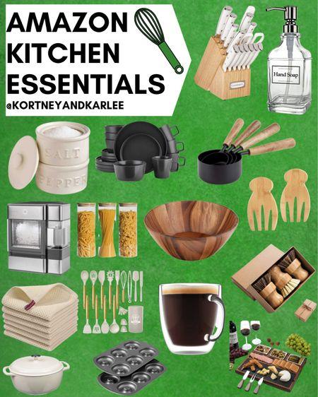 Amazon Kitchen Essentials!!  Amazon kitchen finds | kitchen canisters | cooking utensils set | Amazon Kitchen organization | kitchen finds from amazon | amazon glam kitchen | kitchen finds | glam kitchen finds | glam kitchen favorites | amazon kitchen favorites | gadgets for the kitchen | amazon home gadgets | amazon home must haves | amazon kitchen must haves | amazon kitchen faves | Kortney and Karlee | #Kortneyandkarlee @liketoknow.it #liketkit  #LTKunder50 #LTKunder100 #LTKsalealert #LTKstyletip #LTKSeasonal #LTKhome