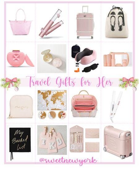 Gift guide for her travel gifts for women http://liketk.it/31M5j #liketkit @liketoknow.it #LTKtravel #LTKgiftspo #LTKitbag