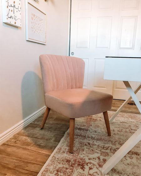 Pink desk chair is 50% off today making it only $75! This chair is super comfortable and it's the perfect height for a desk. http://liketk.it/32C6x #liketkit @liketoknow.it #LTKhome #LTKunder100 #StayHomeWithLTK
