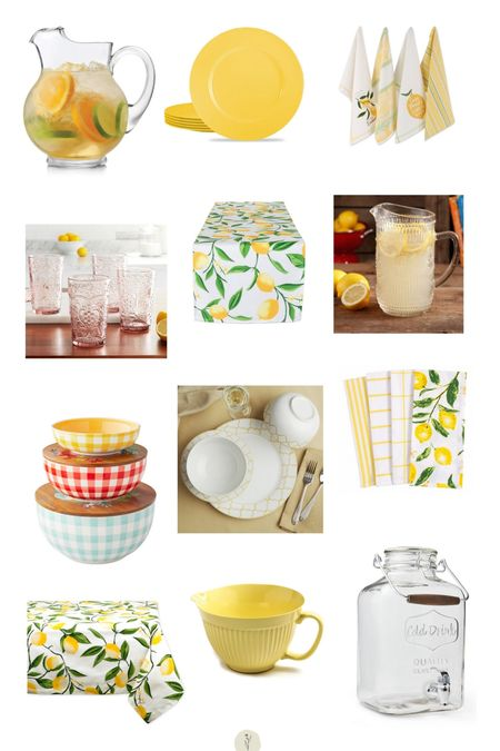 Citrus inspired favorites from @walmart #ad #walmarthome