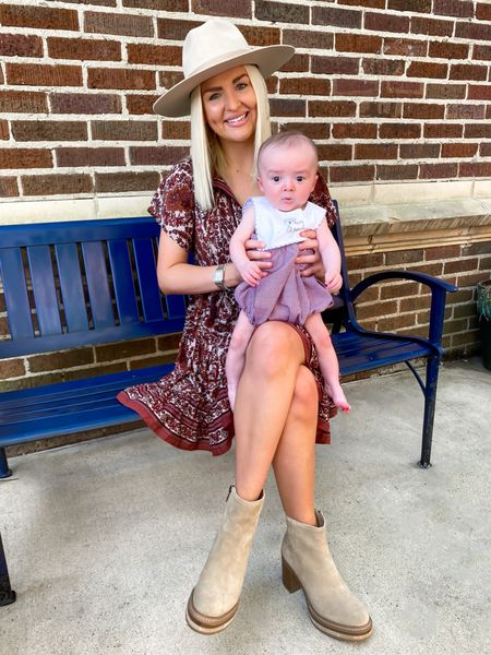 Game day outfit since Mississippi State won this weekend! Game day dress, casual fall dress   #LTKbaby #LTKSeasonal
