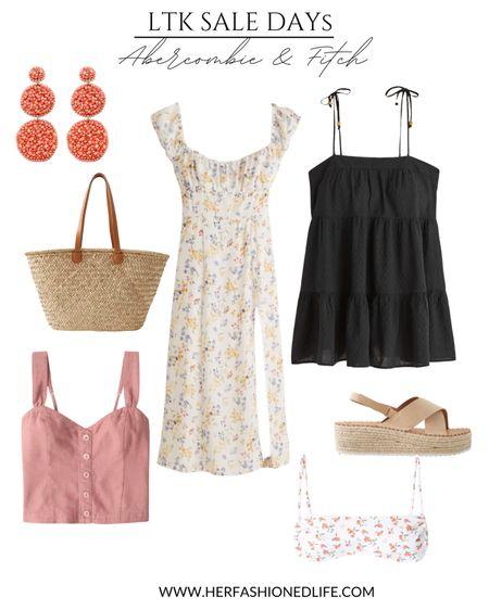 Like to know it sale, Abercrombie, summer dress  #LTKunder50 #LTKsalealert #LTKDay
