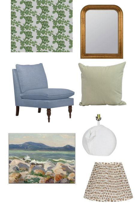 Every room needs a great slipper chair and fabulous art! @onekingslane http://liketk.it/3fdpv  #liketkit @liketoknow.it