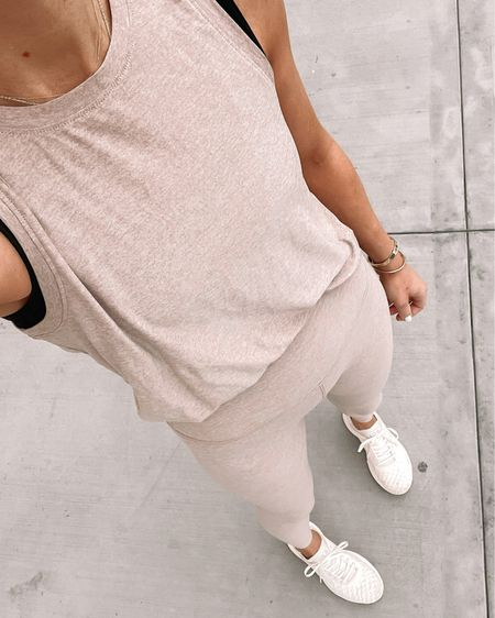 Love these blush activewear pieces for yoga or workouts. The fabric is SO soft and comfortable. Fits tts #fitness #APLsneakers #gym #workout #nordstrom http://liketk.it/3hjnj #liketkit @liketoknow.it #LTKfit #LTKstyletip #LTKunder100