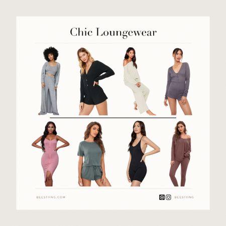 Chic & neutral loungewear for errands or around the house. All on sale or under $40!  #LTKsalealert #LTKunder50 #LTKstyletip