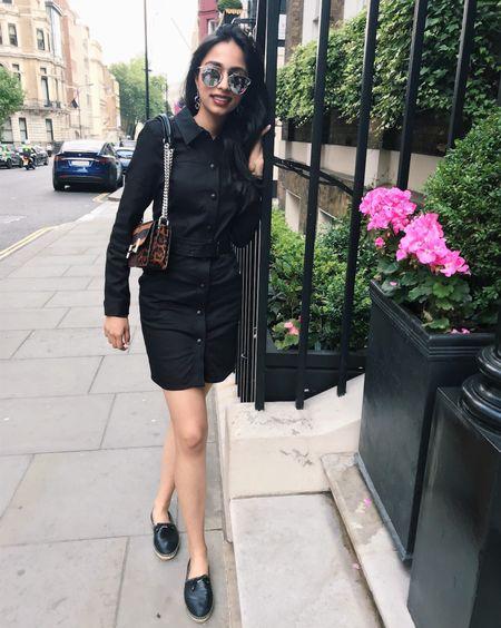 You know what they say: women who wear black lead colorful lives 🌈 #lbd #littleblackdress #fashionstyles #stylish #fbloggerus #fbloggeruk #ukfashion #ukstyle #londonstyleblogger #prada #pradaespadrilles #pradashoes #tods #todsbag #todspurse #animalprint #allblack #diorsoreal #diorsunglasses #dior #christiandior #liketkit @liketoknow.it http://liketk.it/2wrbF