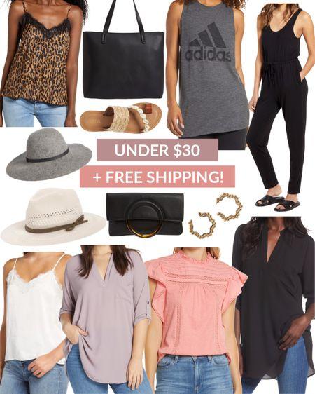 Under $30 tops, sandals, and hats from Nordstrom + FREE ship! // http://liketk.it/2TCAk @liketoknow.it #liketkit #LTKunder50 #LTKsalealert #LTKstyletip