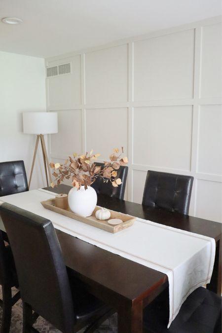 Dining room, fall decor   #LTKhome #LTKHoliday #LTKSeasonal