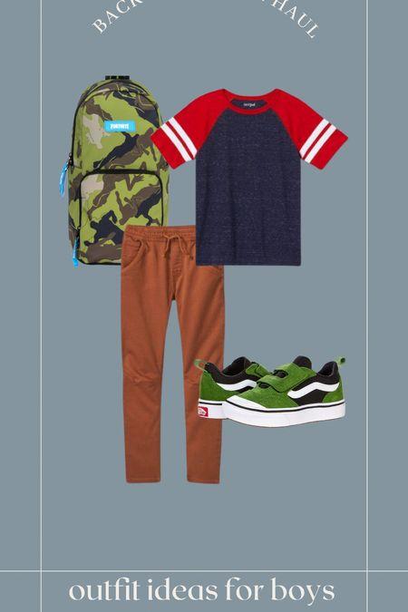 Outfit ideas for boys! #vans #target #targetstyle #walmart #boysstyle #boysclothing #backtoschool  #LTKkids #LTKsalealert #LTKfamily