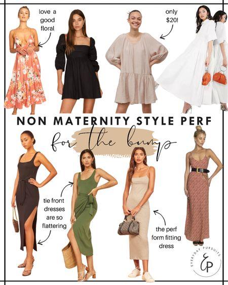 Non maternity dresses that are perfect for the bump! http://liketk.it/3hz1q #liketkit @liketoknow.it #LTKbump