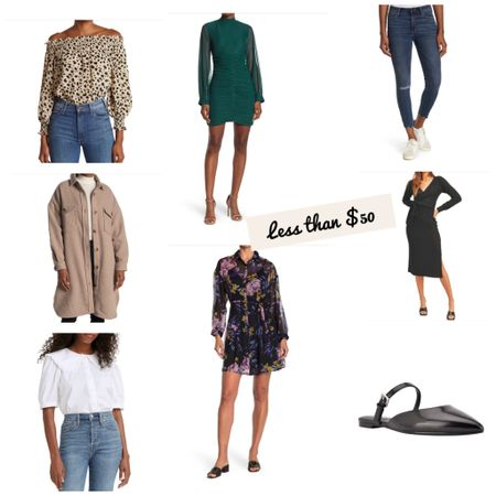 Fall dresses and fashionable styles for less than $50 #shacket #fallfloraldresses   #LTKworkwear #LTKunder50 #LTKsalealert