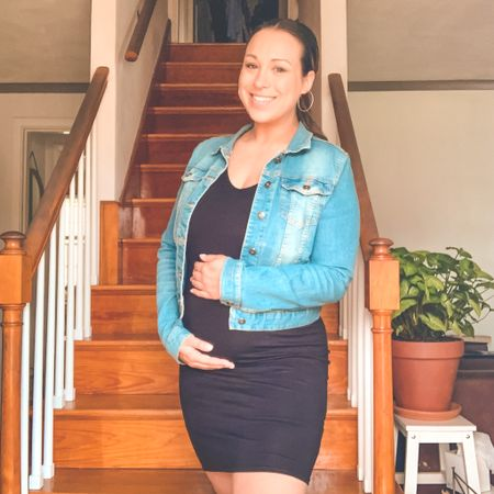 The #1 maternity outfit   #LTKbump #LTKSeasonal #LTKsalealert