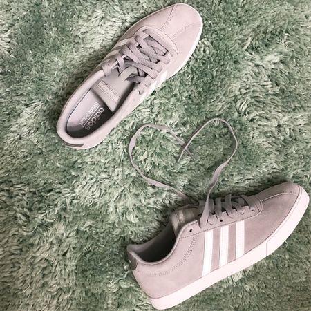 Adidas courtset gray sneakers   http://liketk.it/2KDID #liketkit @liketoknow.it #LTKshoecrush #LTKunder100 #LTKtravel