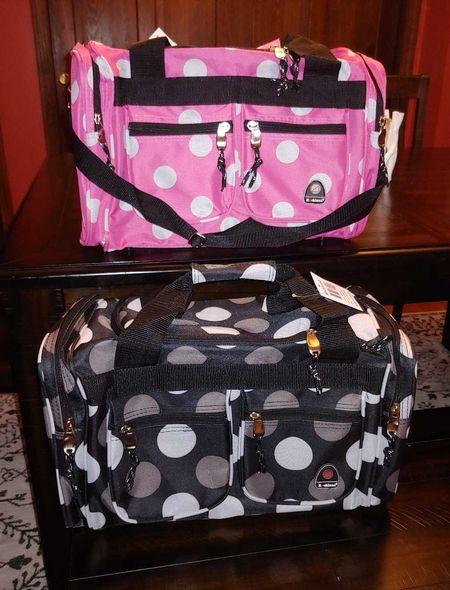 vacay ready! kids overnight duffle bags