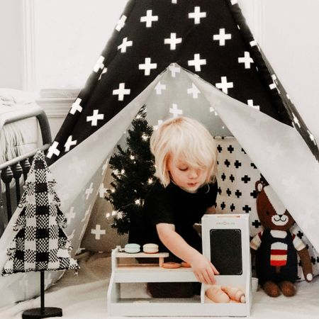 Hello, Monday! Nathan's room is finally looking festive 🎄😌 [ad]  His whole room is a viiibe! His new Polygon Play Tent by @CocoVillage fits perfectly into his little space 😍 & he LOVES his Barista Stand! Head to my stories & place your coffee order! 😘  Don't miss out on their biggest sale of the year! Swipe up on my stories or tap the link in my bio & use code: CHELSEY to save 25% off STOREWIDE! ✨ EXCLUSIVE EARLY BLACK FRIDAY SALE ~ today only! ✨  #GetCocozy   http://liketk.it/31TYo #liketkit @liketoknow.it #LTKgiftspo #LTKhome #LTKkids @liketoknow.it.family @liketoknow.it.home Shop your screenshot of this pic with the LIKEtoKNOW.it shopping app!