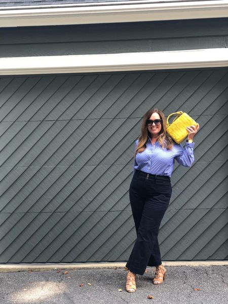 The Business casual back to work featuring the gorgeous bella in mustard.   An updated woven designer design.   From @labante_london.  It is available in 2 other colors Use code Joy10 for your discount.  #LTKworkwear #LTKstyletip #LTKcurves