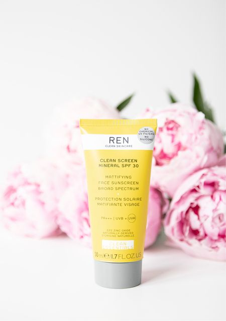 One of my everyday heroes is this REN Clean Screen Natural Mineral SPF30 Mattifying Face Sunscreen   #LTKunder50 #LTKbeauty #LTKfamily