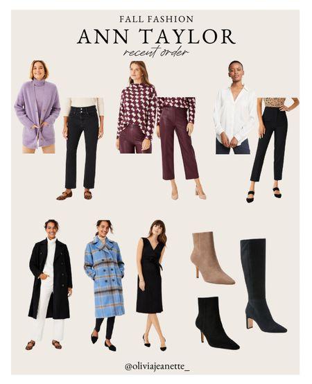 Fall favorites from Ann Taylor. 🍂  #LTKunder100 #LTKworkwear #LTKSeasonal