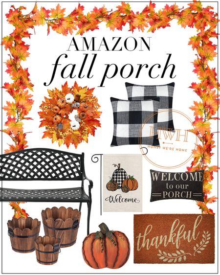 Amazon Fall Porch   #LTKstyletip #LTKSeasonal #LTKsalealert
