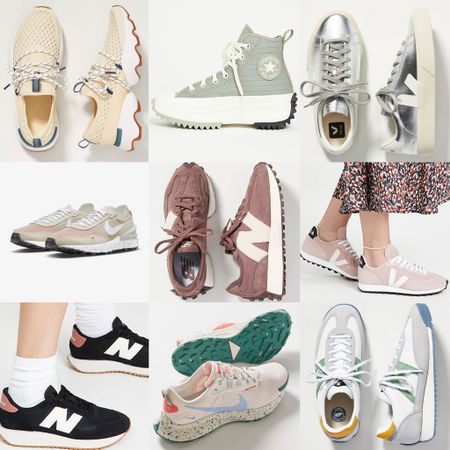 I'm on a major sneaker kick right now and I'm finding the cutest kicks! Tried to narrow them down and linked a few of my favs but I love them all!  #LTKshoecrush #LTKsalealert #LTKunder100