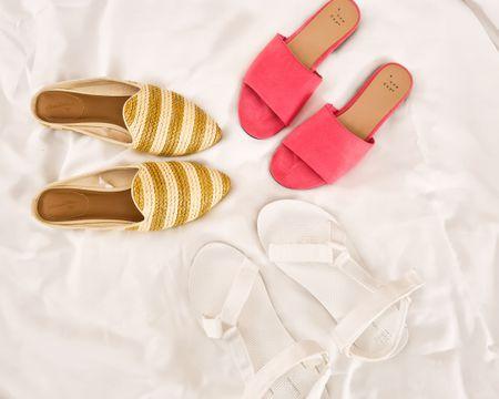 Summer mules. Summer sandals. Summer flats. All summer long! http://liketk.it/3kB8R @liketoknow.it #liketkit #LTKstyletip #LTKunder50 #LTKshoecrush