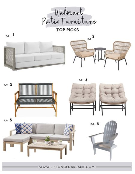 Outdoor Furniture! Walmart Patio Finds - snag these amazing deals while in stock and ready to ship!! #ad #walmarthome  http://liketk.it/3cQW1 #liketkit @liketoknow.it @liketoknow.it.home   #LTKsalealert #LTKhome #LTKSeasonal