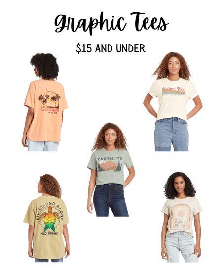 Graphic tee shirts, Target fashion, affordable fashion, Target style, Target finds, graphic tshirt. #LTKunder50 #LTKstyletip #LTKsalealert #liketkit @liketoknow.it http://liketk.it/3emT2